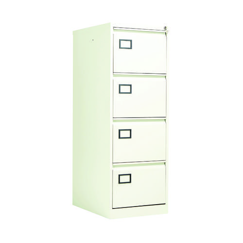 Jemini 4 Drawer Filing Cabinet White KF78708