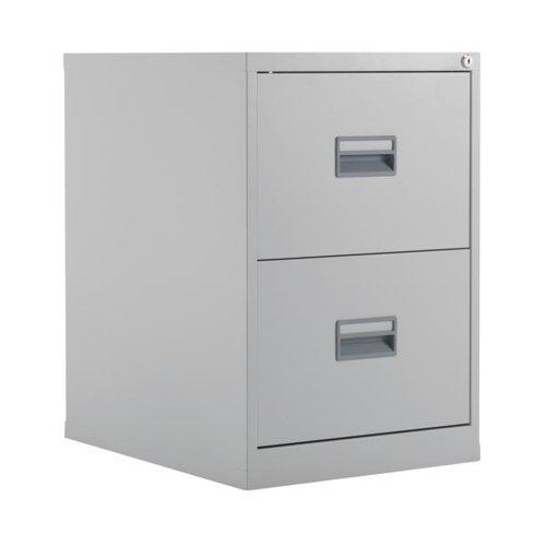 Talos 2 Drawer Filing Cabinet Grey KF78764