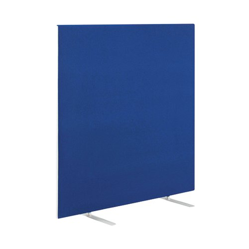 Image for Jemini Blue 1200mm Floor Standing Screen (Dimensions: W1600 x D28 x H1200mm) KF78989