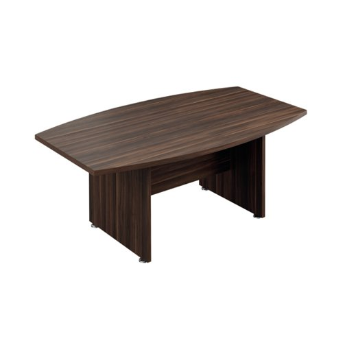 Avior Executive Boardroom Meeting Table 1800mm Dark Walnut KF821885