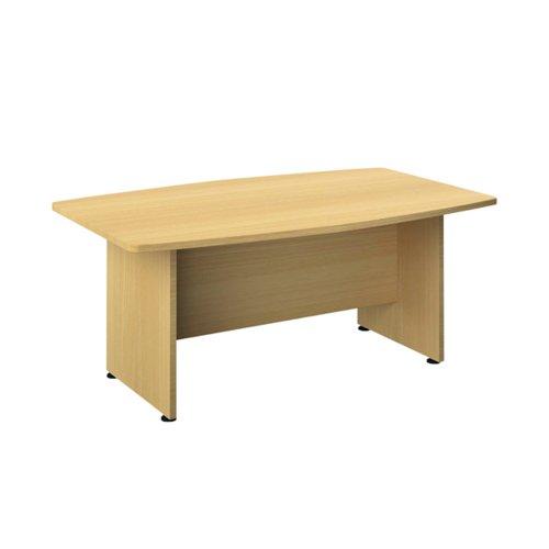 Avior Executive Boardroom Meeting Table 1800mm Nova Oak KF821892