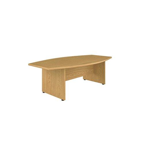 Avior Executive Boardroom Meeting Table 2400mm Grey Oak KF821915