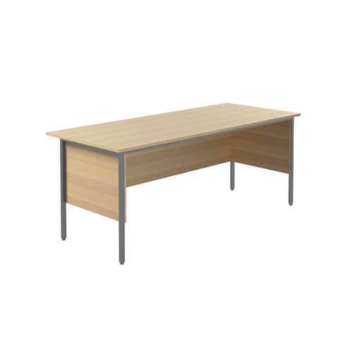 Serrion Ferrera Oak 1800mm 4 Leg Desk KF838789