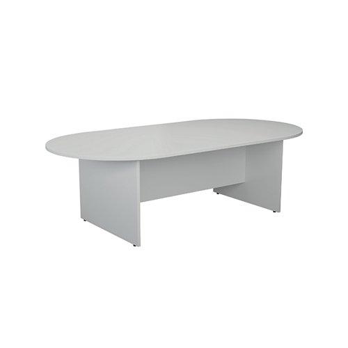 Jemini White 2400mm Meeting Table KF840159