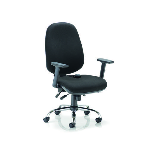 Arista Aire High Back Ergonomic Maxi Chair 675x580x1035-1230mm Black KF90572