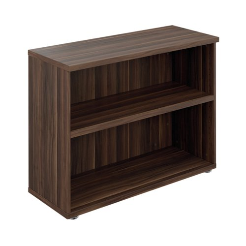 Avior Executive Bookcase 800mm Dark Walnut KF90614
