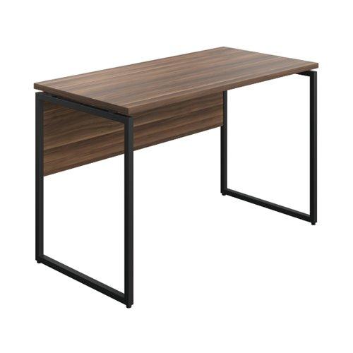 Jemini Soho Square Leg Desk Dark Walnut/Black Leg SD03BKDW