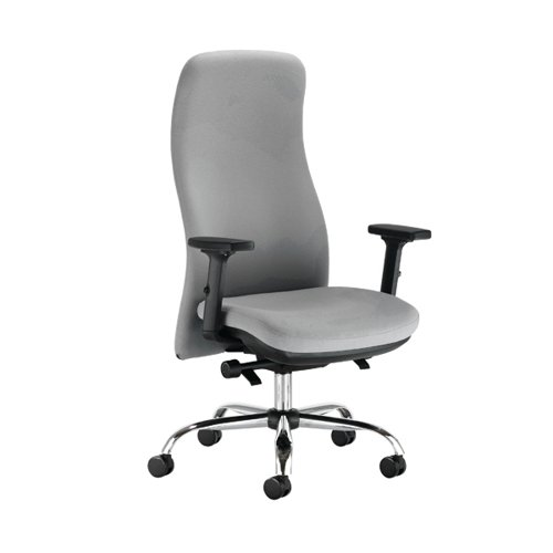 Capella Tempest Posture Chair 2D Arms 680x680x1150-1310mm Grey KF90935
