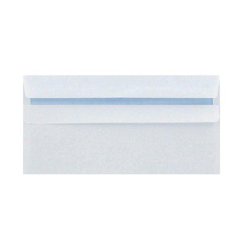 Q-Connect DL Envelopes Wallet Self Seal 120gsm White (Pack of 1000) 81414