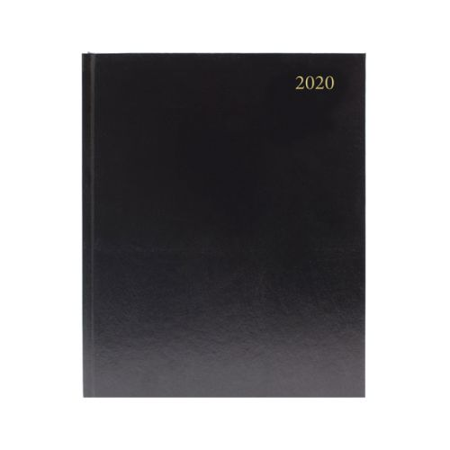 2020 Diary Quarto Week To View Appointment Black
