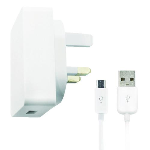 Reviva Micro USB Cable and USB Mains Charger 22470VO11