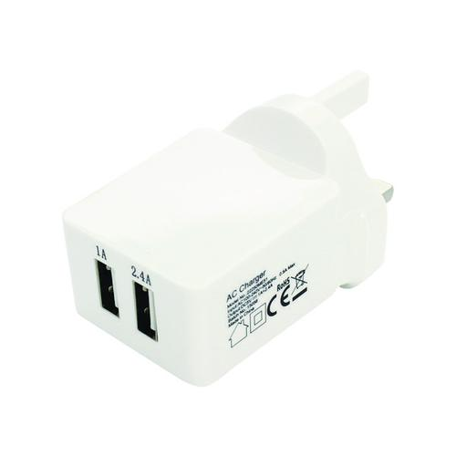 Reviva Twin USB Mains Charger 22490VO11