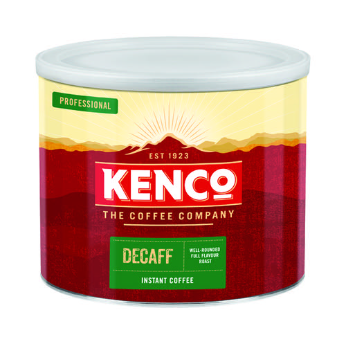 Kenco Decaffeinated Freeze Dried Instant Coffee 500g 88633