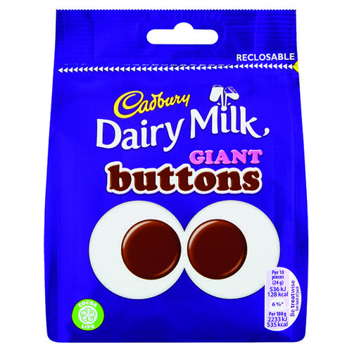 Cadbury Giant Buttons Share Bag 95g 4240133