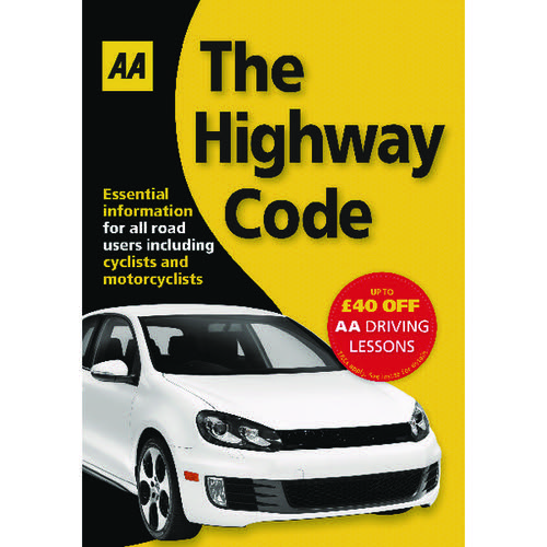 AA The Highway Code Book (AA Driving Test) 9780749552572