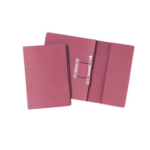Pocket Spiral Files 285gsm Foolscap Pink (Pack of 25)TPFM-PNKZ