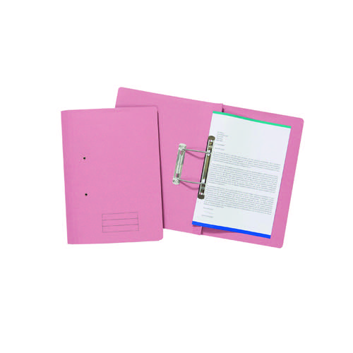 ValueX Transfer File Foolscap Pink TFM-PNKZ (Pack 25)