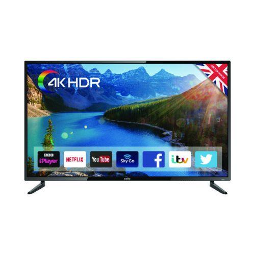 Cello 55 Inch Smart LED 4K TV C55SFS4K