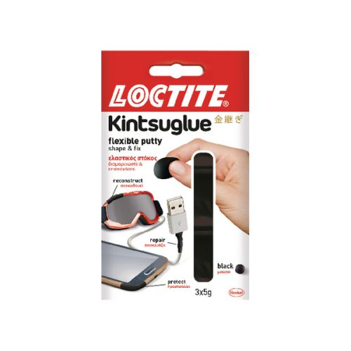 Loctite Kintsuglue Putty 5g Black (Pack of 3) 2239183