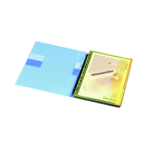 Tarifold Punched Envelope Wallets A4 Assorted (Pack of 12) TAE510229