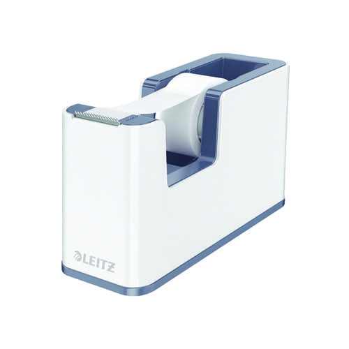 Leitz WOW Tape Dispenser Dual Colour White/Grey 53641001