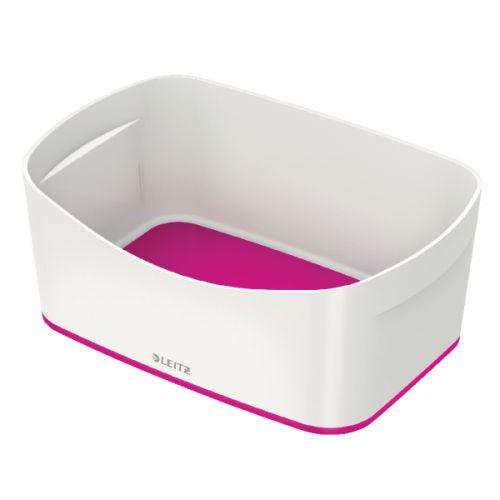 Leitz MyBox Storage Tray WOW White Pink