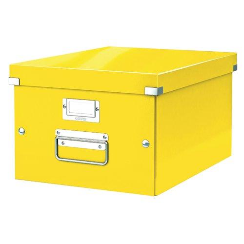 Leitz Click & Store Medium Box Yellow