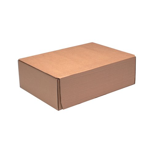 Image for Mailing Box 325x240x105mm Brown (Pack of 20) 43383251