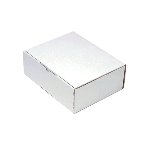 Mailing Box 330x110x63mm White (Pack of 25) PPAK-KING09-D