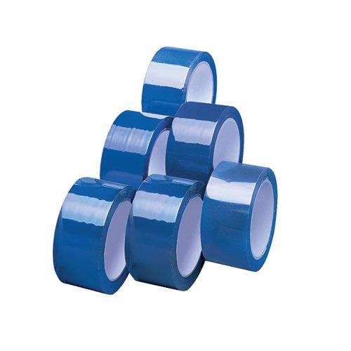 Polypropylene Tape 50mmx66m Blue (Pack of 6) APPBL480066-LN