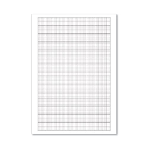 A4 Loose Leaf Graph Paper (Pack of 500) 100103410