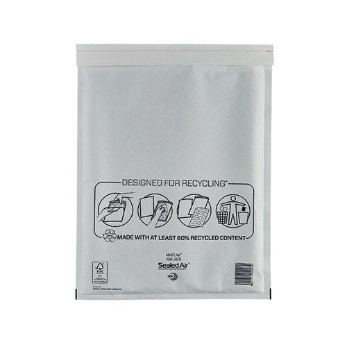 MAIL LITE SIZE H/5 BUBBLE BAGS PK50