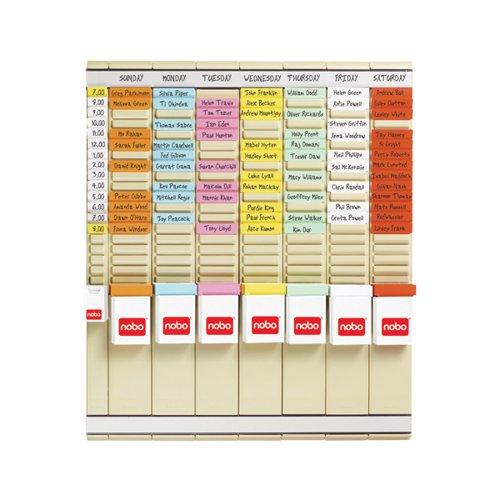 Nobo T-Card 7 Day Planning Kit 2911080