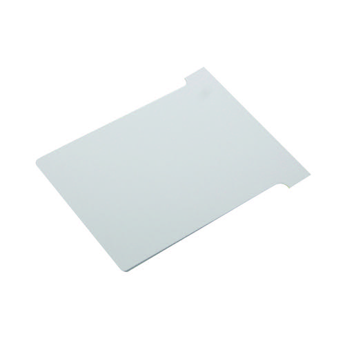 Image for Nobo T-Card Size 2 48 x 85mm White (Pack of 100) 2002002