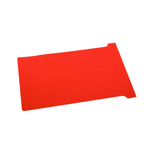 Nobo T-Cards A110 Size 4 Red 32938928 (PK100)