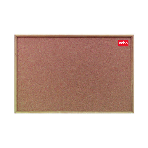 Nobo 1200x900mm Classic Cork Noticeboard with Oak Frame