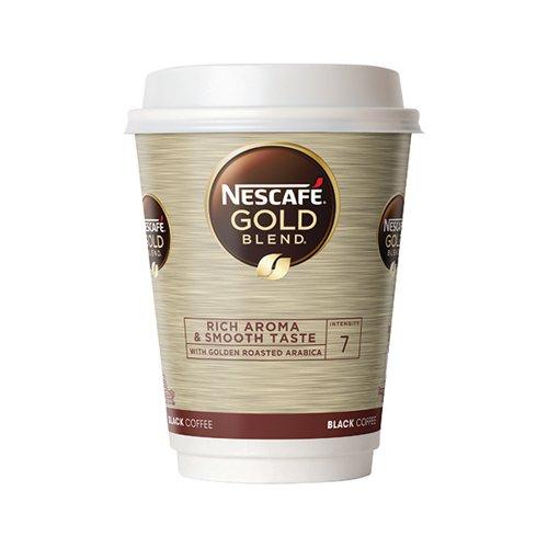 Nescafe Go Gold Blend Black Coffee Pk8