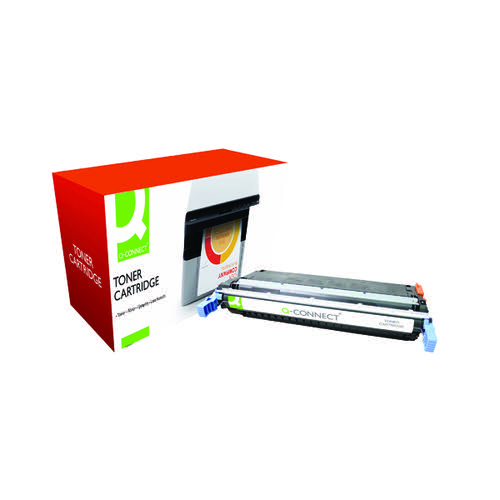 Q-Connect HP 645A Remanufactured Black Laserjet Toner Cartridge C9730A
