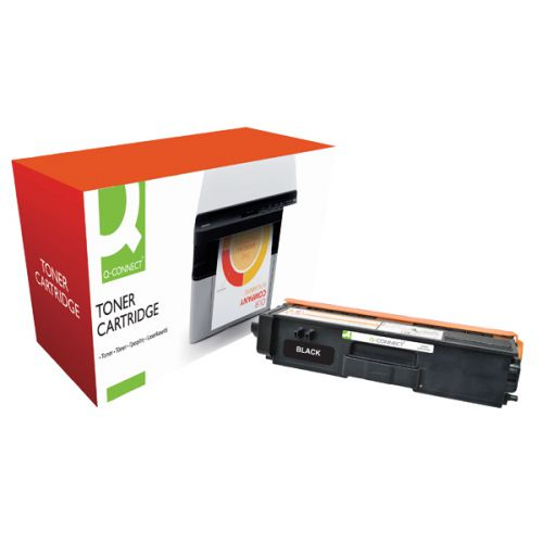Q-Connect Brother TN320BK Black Toner
