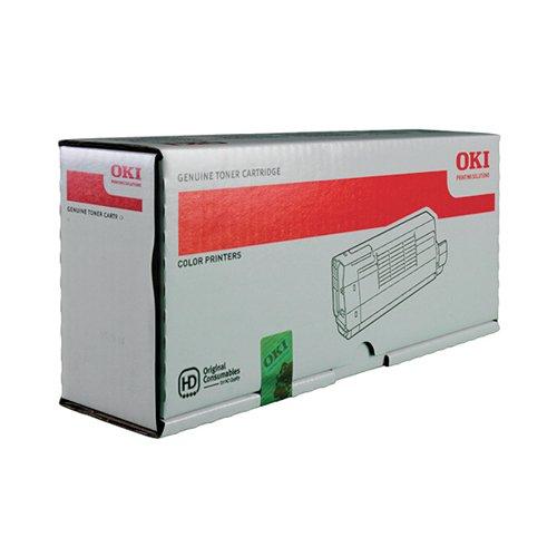 Oki Magenta Toner Cartridge (11500 Page Capacity) 44318606
