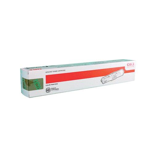 Oki Magenta Toner Cartridge (2,000 Page Capacity) 44469705