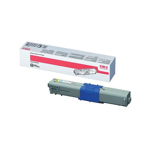 Oki Yellow Toner Cartridge High Capacity (5000 page capacity) 44469722