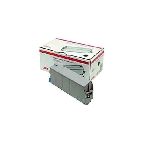 Oki Black Toner Cartridge (8000 Page Capacity) 44059108