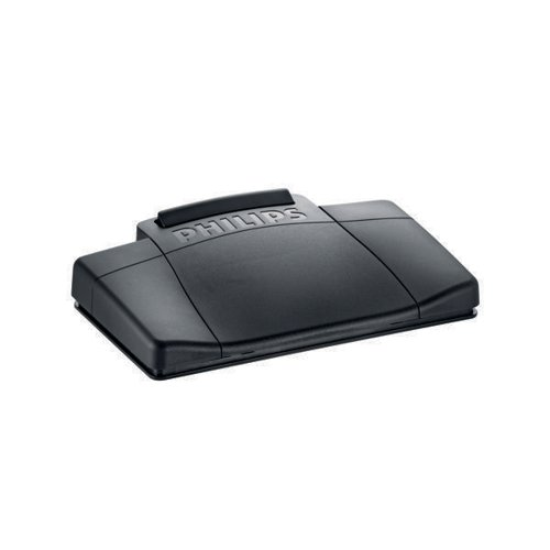 Philips Black Analogue Dictation Foot Control LFH2210/00