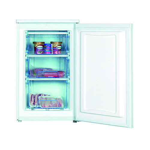 Statesman Under Counter Freezer White 50cm (3 drawers adjustable thermostat 70 lt capacity) IG350F