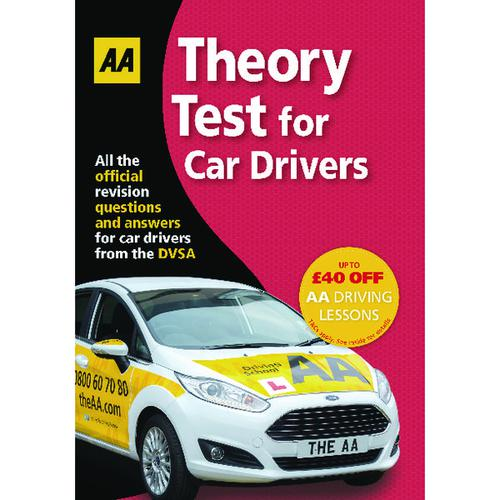 AA Theory Test For Car Drivers Guide 9780749578381
