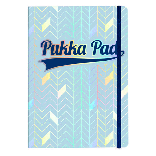 Pukka Pad Glee Journal Pad A5 Light Blue (Pack of 3) 8684-GLE