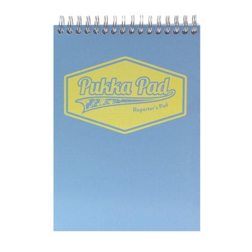 Pukka Pad Pastel Reporters Pad 140x205 (Pack of 3) 8907-PST