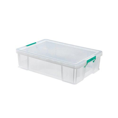 StoreStack 37 Litre Storage Box W680xD440xH170mm Clear RB75899