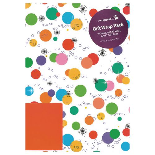 Regent Packaged Wrap Bright Spots (Pack of 12) F332